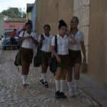 Kuba z dzieckiem