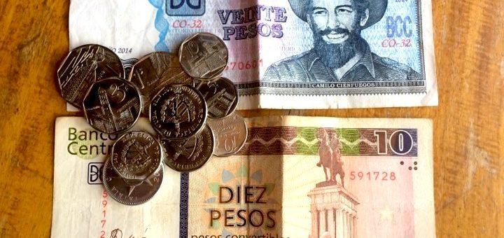 Pieniądze i waluty na Kubie