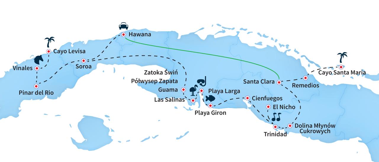 mapa perla karaibow